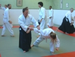 Peter Megann instructing at the Oxford Dojo