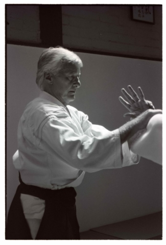 Bill Jackson at the Oxford Aikikai