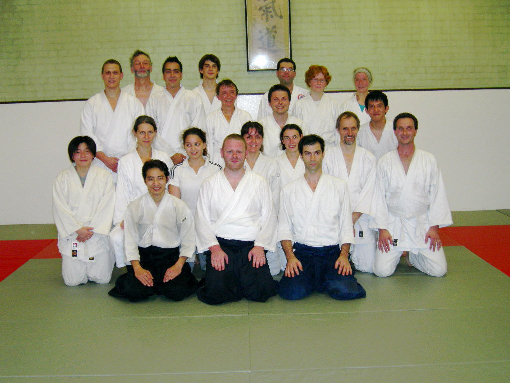 Oxford Aikikai group photo - Oct 2005